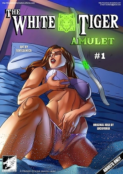 The White Tiger Amulet #1