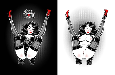 Kinky Cards - Full Nude..
